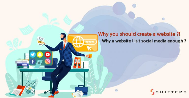 Why you should create a website ?!