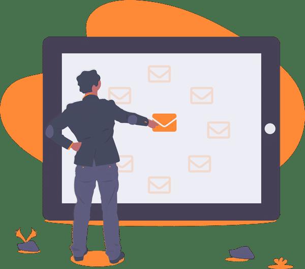 البريد الالكتروني التسويق الأعلى