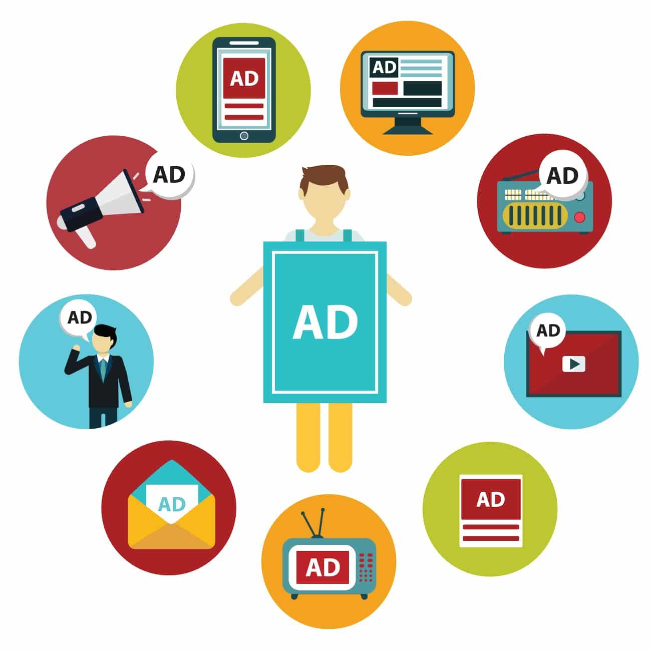 الإعلانات