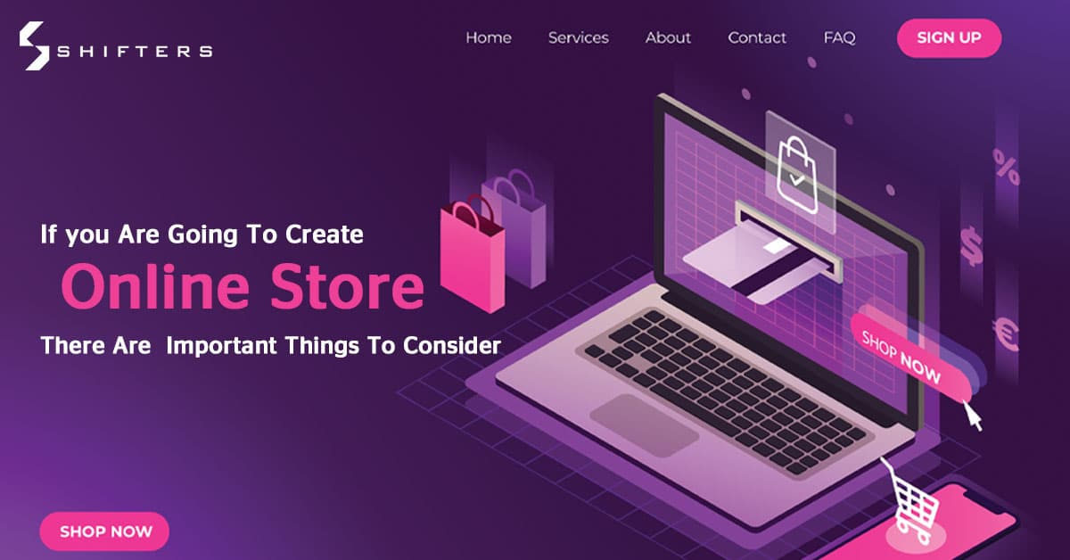 The most important things when creating an online store