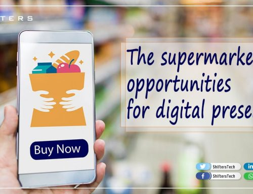 supermarket marketing in digital presence