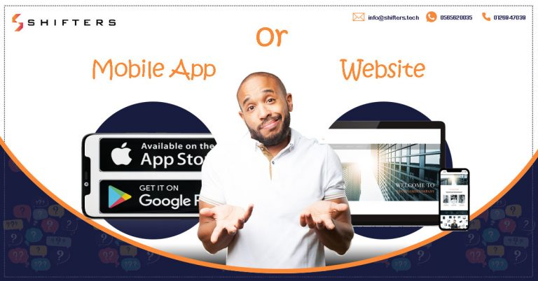 Website or Mobile application