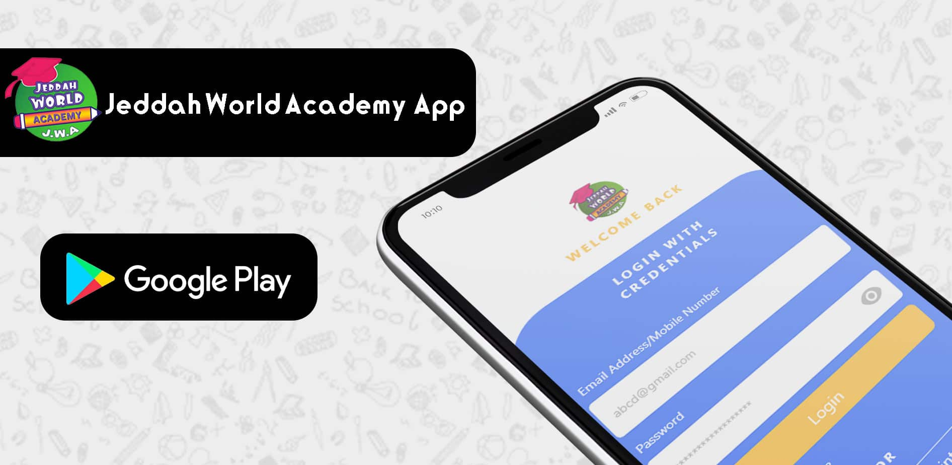 Jeddah World Academy App